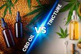 cbd oil vs tinctures