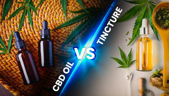cbd oil vs tinctures